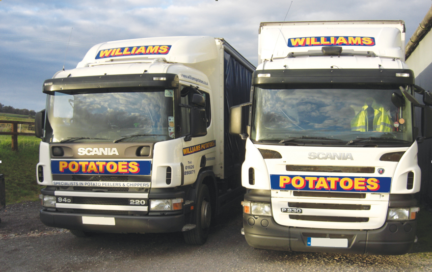 Williams Potatoes, Bold and Crypto Peerless Chippers and Peelers. Spare Parts